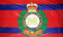 BRITISH ROYAL ENGINEERS - 5 X 3 FLAG